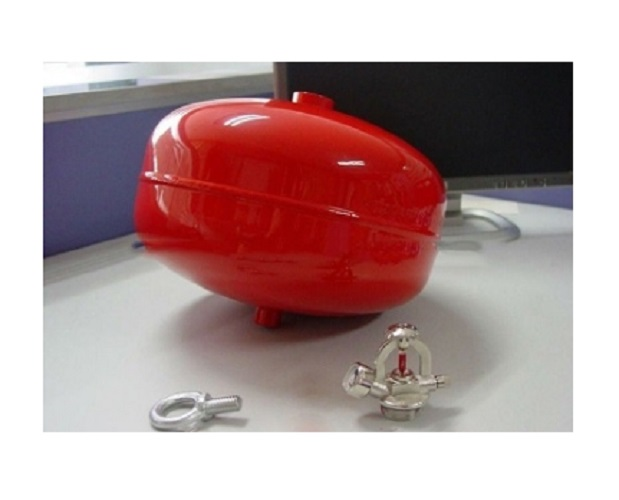 Kết quả hình ảnh cho quả cầu chữa cháy tự động